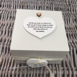 Shabby Personalised Chic Auntie Aunty Great Aunt Gift Trinket Box Jewellery Box - 232512165902